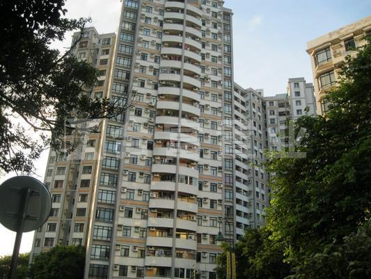 丽江花园德汇楼一般装修 超大生活阳台 叹下午茶都可以